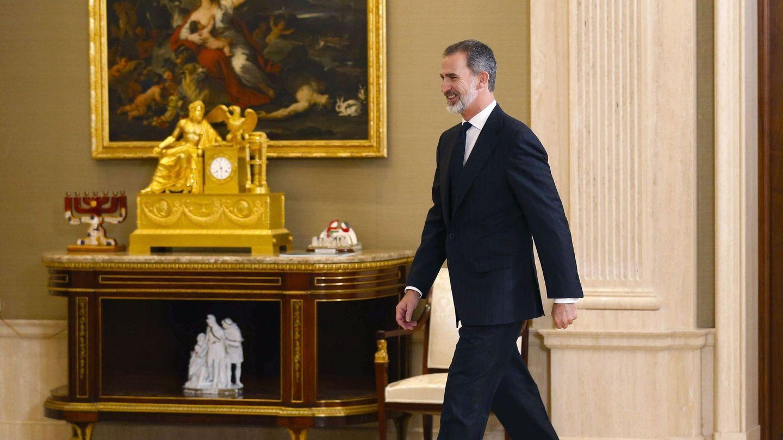 El rey Felipe VI, en la Zarzuela. (EFE)