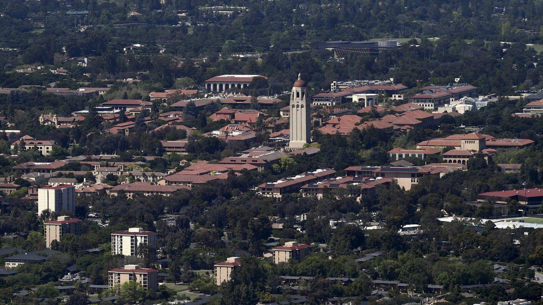 Foto: Vista aérea del campus de la Universidad de Stanford. (Reuters/Noah Berger)