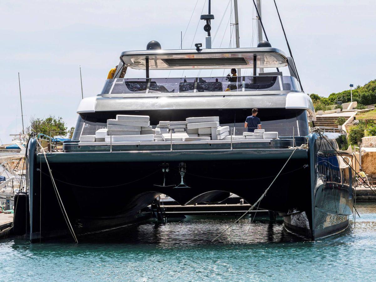 Foto: El nuevo catamarán de Rafa Nadal. (EFE)