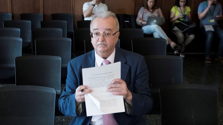 El exconsejero de Empleo Antonio Fernández. (EFE)