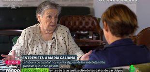 Post de María Galiana con Cristina Pardo: