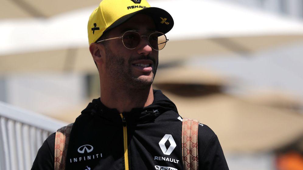 Foto: Ricciardo pierde la sonrisa fuera de la pista. (Reuters)