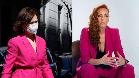 Carmen Calvo se pone el traje de Rocío Carrasco para acompañar a Leonor