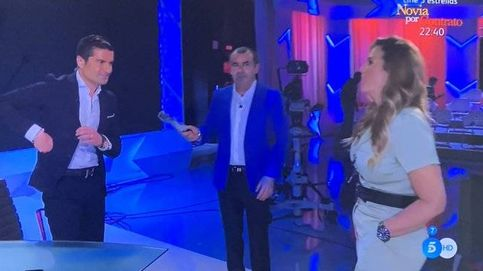 Encerrona de 'Sálvame' a Alfonso Merlos: Marta se encara con él en Telecinco