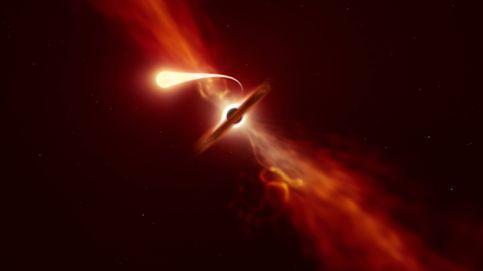 Así devora un agujero negro supermasivo una estrella como el Sol