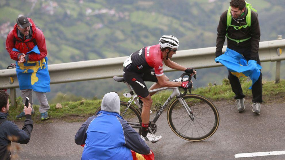 Una joven muere en un accidente en el Angliru antes de la victoria de Contador