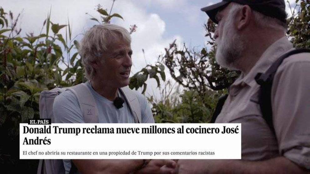 José Andrés y la demanda de Trump: así finiquitó el asunto en 'Planeta Calleja'