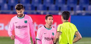 Post de El Barça juega horriblemente en Getafe, pierde y vuelve al victimismo (1-0)