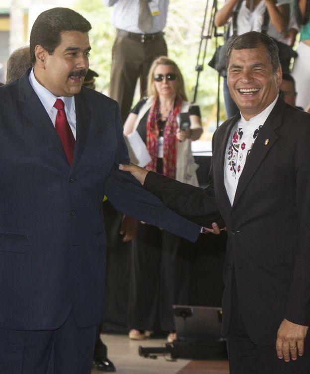Foto: Nicolás Maduro y Rafael Correa, presidentes de Venezuela y Ecuador respectivamente, en una imagen de archivo (EFE)