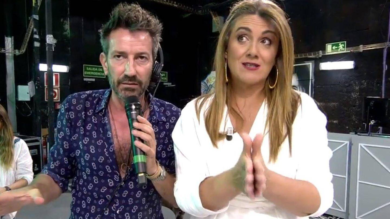 David Valldeperas y Carlota Corredera. (Mediaset España)