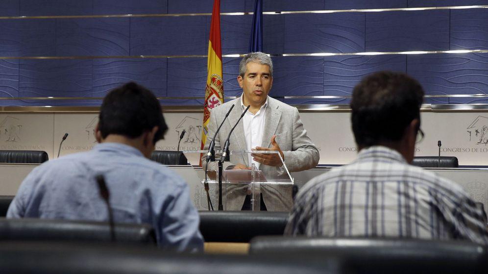 Foto: El portavoz del Partit Demòcrata Català (PDC), Francesc Homs. (EFE)