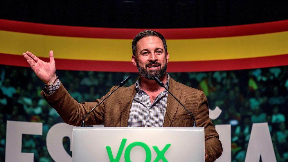 Santiago Abascal sostiene que el objetivo tras exhumar a Franco es derrocar al Rey