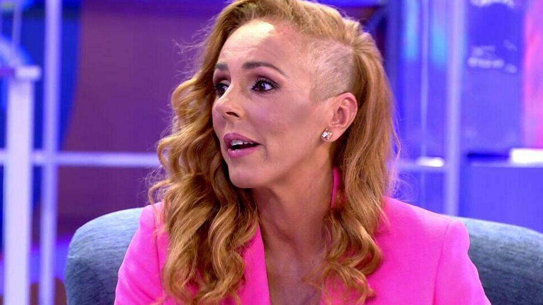 Rocío Carrasco, en 'Sálvame' tras las vacaciones. (Mediaset)