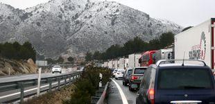 Post de Más de 1.000 coches atrapados por las nevadas entre Madrid y Alicante