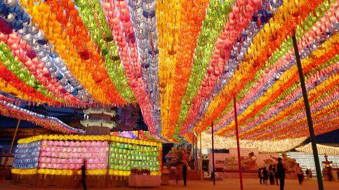 Preparativos para el cumpleaños de Buda