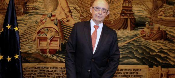 Foto: El ministro de Hacienda y Administraciones Públicas, Cristóbal Montoro