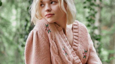 La chaqueta de punto con flores bordadas que C&A ha creado para enamorarte