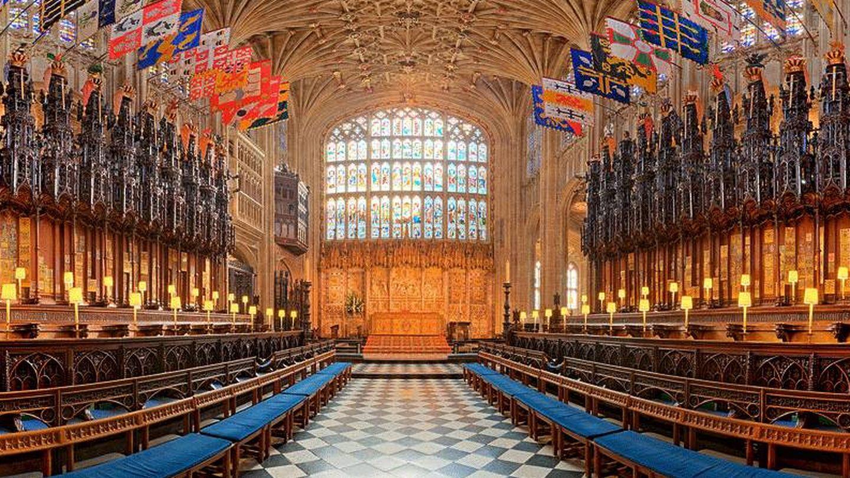 La capilla del castillo de Windsor.