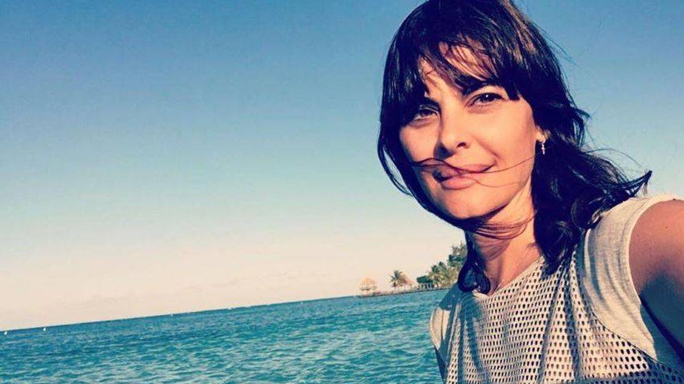 Foto: La modelo María José Suárez en una imagen de Instagram