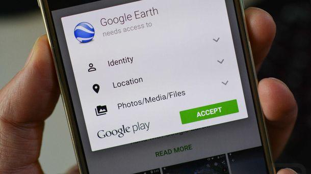 Foto: El próximo Android permitirá al usuario decidir qué permisos otorga a una aplicación