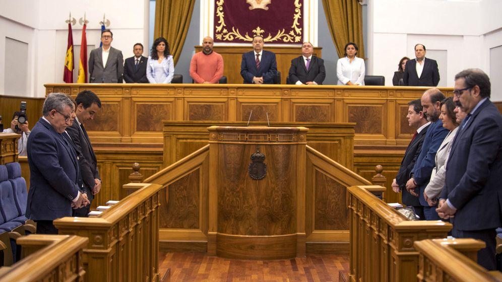 Foto: Cortes de Castilla-La Mancha donde se debate el proyecto de ley de Presupuestos. (EFE)