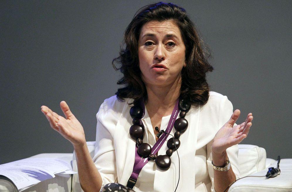 Foto: La todavía presidenta de Paradores de España, Ángeles Alarcó. (EFE)