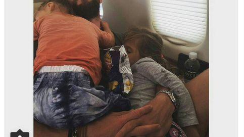 Elsa Pataky se hace viral por una foto de Chris Hemsworth con sus hijos