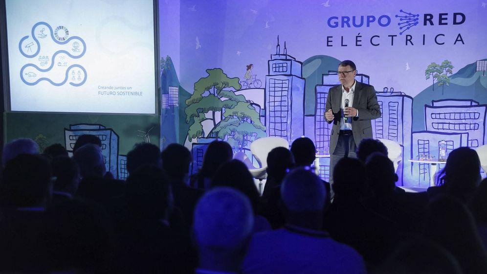 Foto: El presidente de Red Eléctrica de España (REE), Jordi Sevilla.