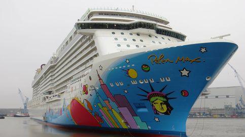 Una avería en un crucero deja 2.700 pasajeros varados en Barcelona