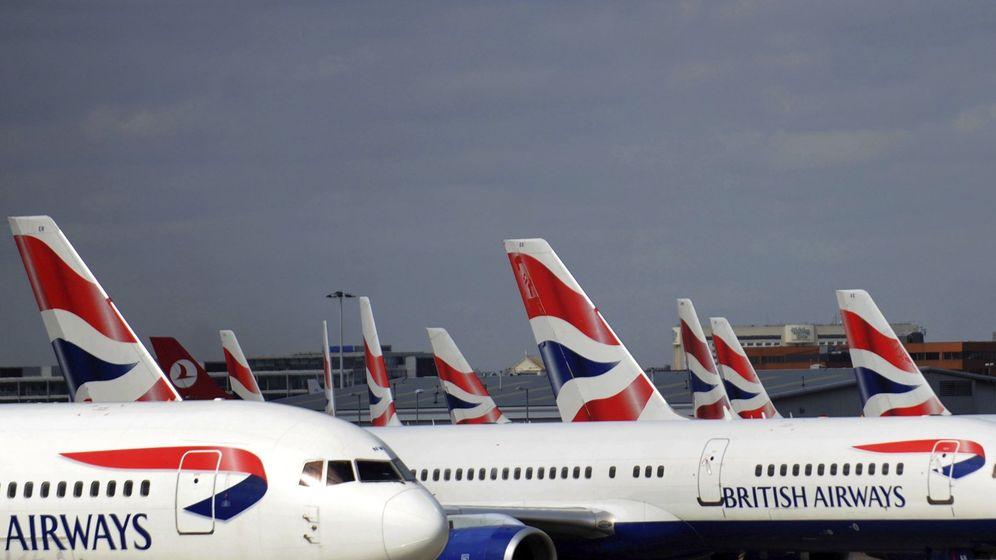 Foto: Aviones del grupo IAG. (EFE)