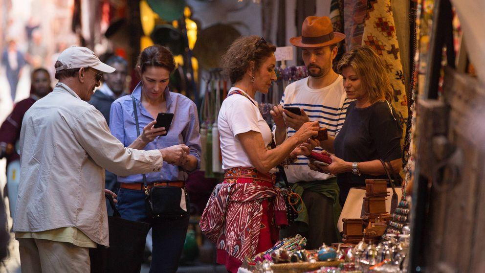 El fin de semana marroquí de Cari Lapique y Naty y Adriana Abascal
