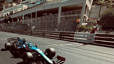 Cuando Fernando Alonso 'besa' los raíles: cómo he disfrutado el primer día en Mónaco