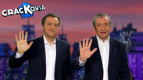 Josep Pedrerol, cara a cara a su clon en 'Crackòvia'