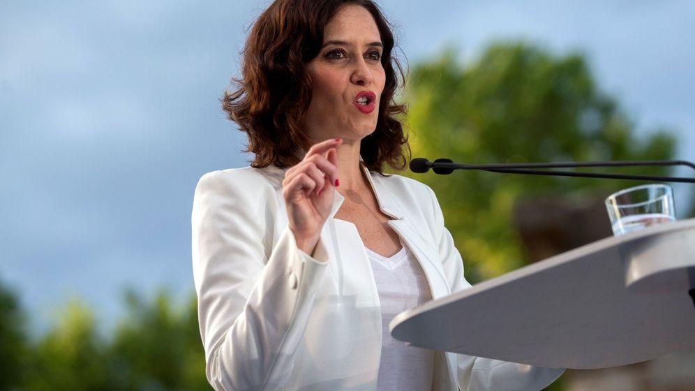 Foto: La candidata del PP a la Comunidad de Madrid, Isabel Díaz Ayuso (Efe)