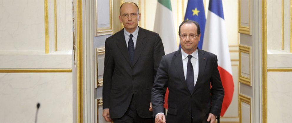 Foto: Francia e Italia se niegan a hacer un 'striptease' de sus bancos como el de los españoles