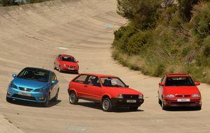 Tres décadas del Ibiza, el modelo que cambió Seat y aún domina el mercado