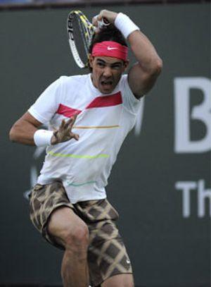 Rafael Nadal debutó en Indian Wells con victoria