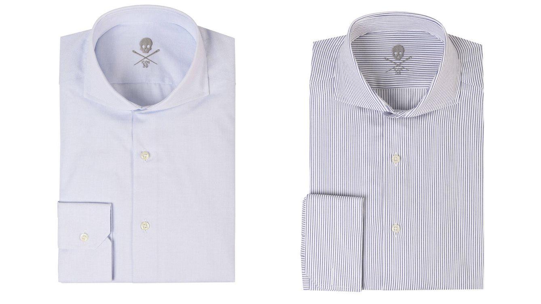 Foto: Dos camisas de la última colección de Scalpers.
