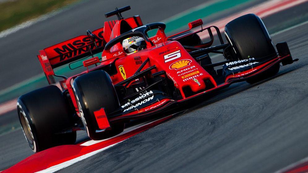 Foto: El nuevo Ferrari SF90 ha dejado muy buenas sensaciones en la primera semana de pretemporada. (EFE)