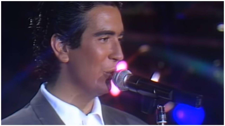 Agustín Pantoja, en una actuación en TVE. (YouTube)