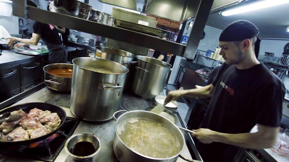 Foto: La cocina del restaurante DiverXO (Enrique Villarino)