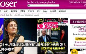 Closer borra de su web las fotos del amor secreto de Hollande