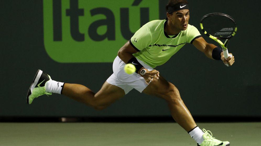 Foto: Nadal ha jugado cuatro veces la final del Masters 1000 de Miami y ha perdido las cuatro. (Reuters)