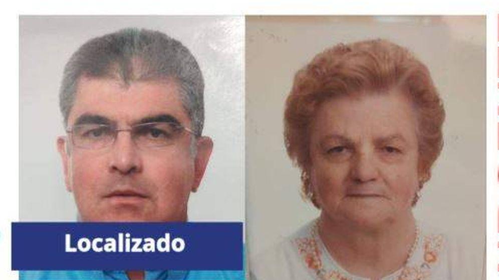 Foto: Hijo y madre desaparecidos en Carmona. (Asociación Sos Desaparecidos)
