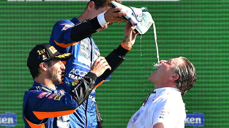 La victoria de McLaren en Monza ha confirmado el éxito de Zak Brown en la reestructuración y resurrección del equipo británico