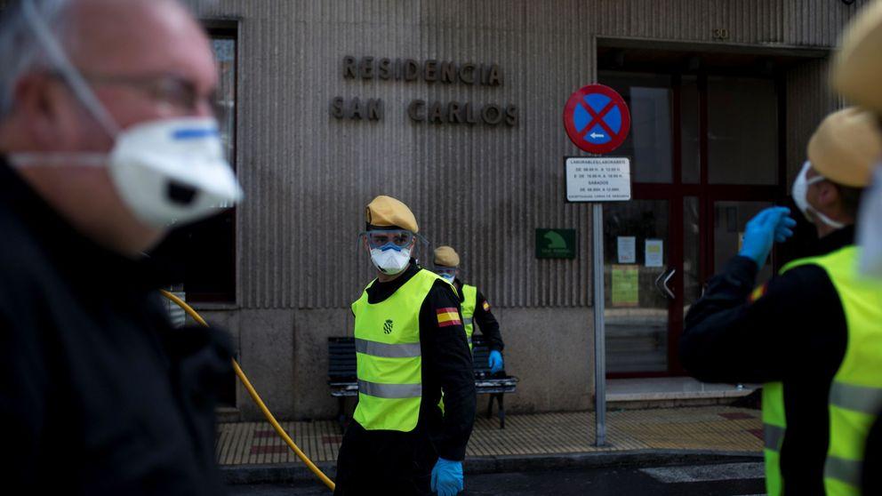 La UME amplía a más de 70 las residencias a desinfectar por el Covid-19 en la Comunidad de Madrid