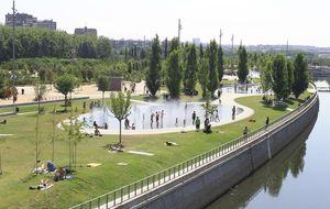 Madrid Río, un 40% menos de jardineros para su mantenimiento