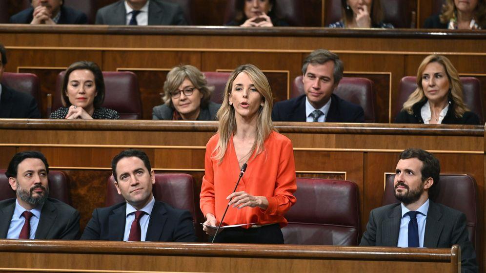 Foto: La portavoz del PP en el Congreso, Cayetana Álvarez de Toledo. (EFE)