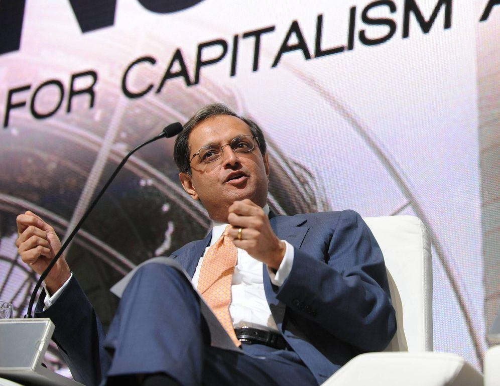 Foto: Vikram Pandit, en 2010, cuando era CEO de Citigroup. (Efe)