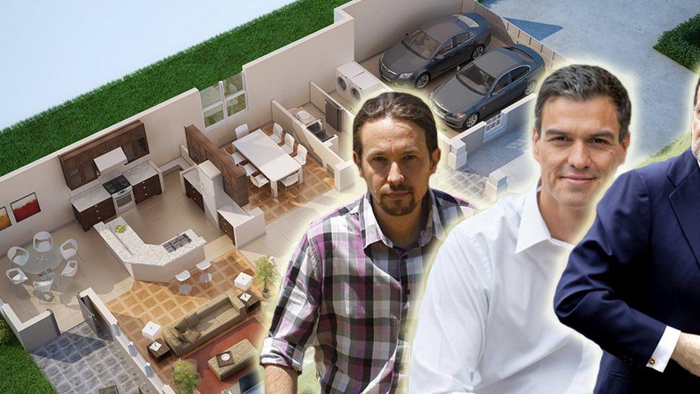 Así son las viviendas de los políticos españoles